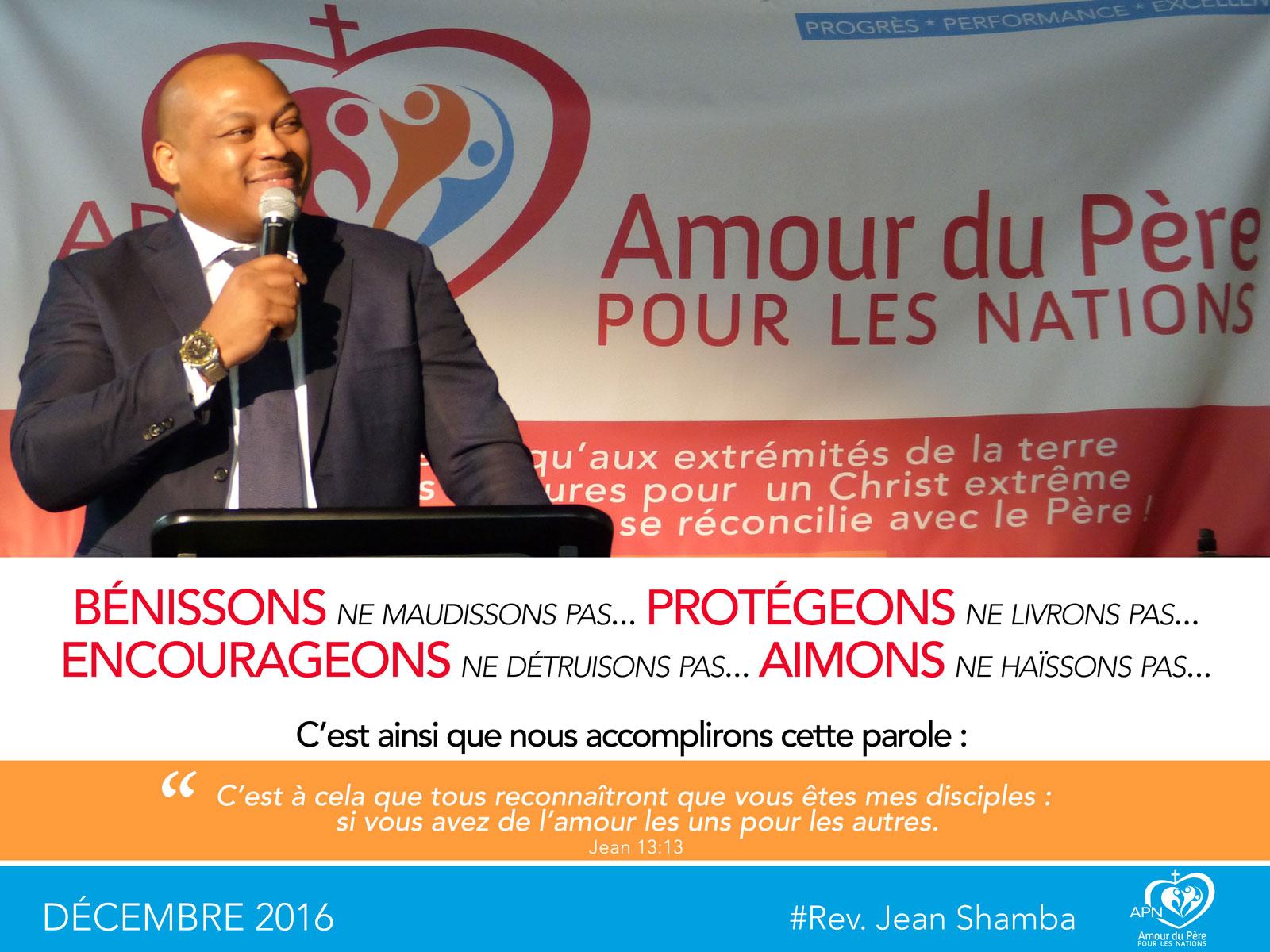 Pardonne Moi Et Aime Moi Jean Shamba Ministries