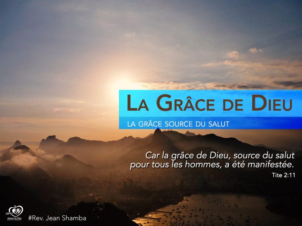 La gr ce de dieu 2 jean shamba ministries for Piscine grace de dieu