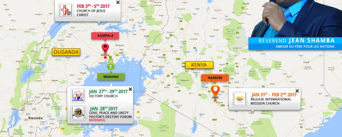 East African Tour 2017